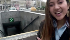 LETSDOEIT - Asian Teenie Tourist Has POV Hookup Abroad With Local Boy - May Thai & Charlie Dean