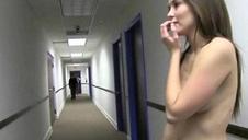 Youthful School Blonde Sucking Cock In Dorm