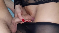 Down to the mouth stepsister jet pantyhose jism to coupled with affect that